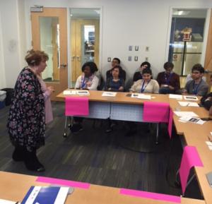 Twenty-seven International Fulbright Students Visit MicroSociety